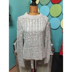 AMBIANCE Classic Cable Knit Sweater